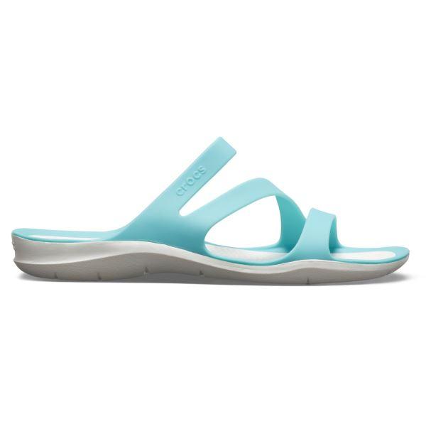 ff646fadea Dámske šľapky Crocs SWIFTWATER Sandal W modrá   biela