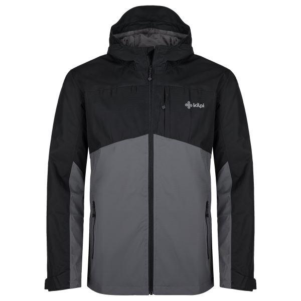 Pánska outdoorová bunda Kilpi ORLETI-M tmavo šedá