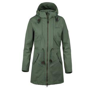 Dámsky kabát Kilpi PAU-W khaki (nadmerná veľkosť)