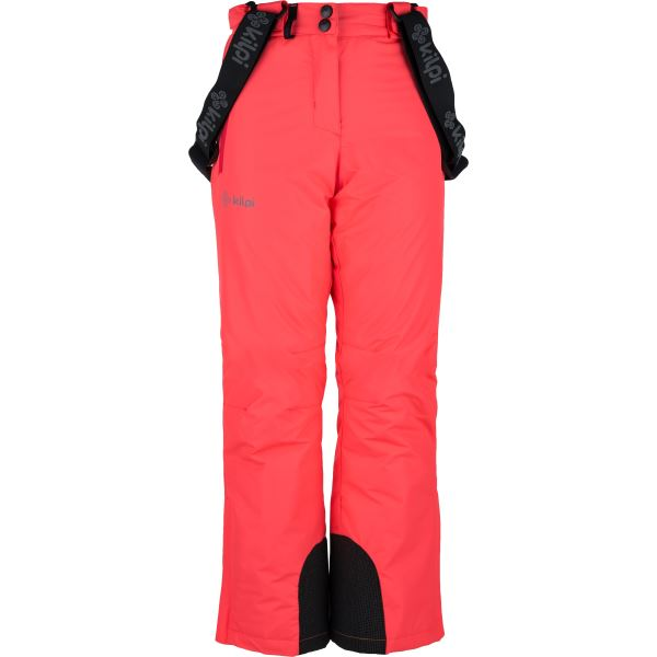 Detské zimné lyžiarske nohavice Kilpi ELARE-JG ružová