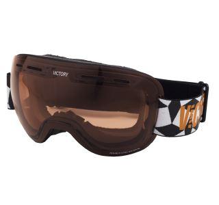 Pánske lyžiarske okuliare Victory SPV 611 čierna