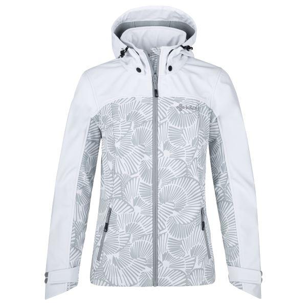 Dámska softshellová bunda Kilpi RAVIA-W biela