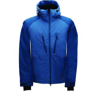 Pánska zimná lyžiarska bunda 2117 LINGBO modrá