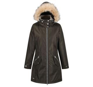 Dámsky zimný kabát Regatta LEXIA tmavá khaki
