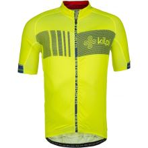 Pánsky cyklistický dres Kilpi CHASER-M žltá