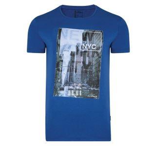 Pánske tričko Dare2b METROPOLIS Tee modrá