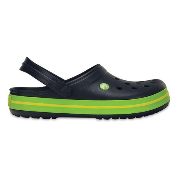 Unisex topánky Crocs CROCBAND ™ Clog tmavo modrá / zelená
