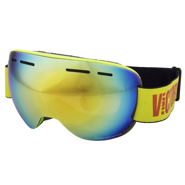 Unisex lyžiarske okuliare Victory SPV 615A zelená