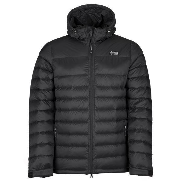 Pánska ľahká páperová bunda Kilpi SVALBARD-M čierna