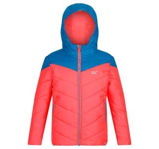 Detská zimná bunda Regatta Lofthouse III oranžová / modrá