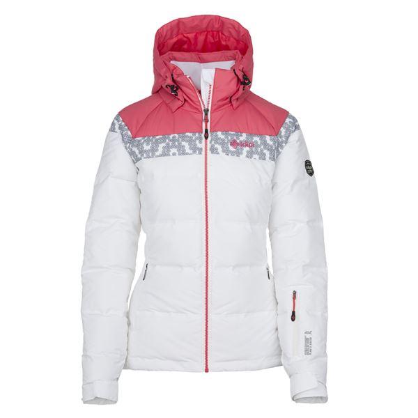 Dámska zimná páperová bunda Kilpi SYNTHIA-W biela