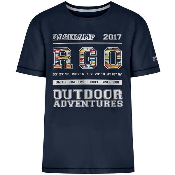 Detské tričko Regatta BOBBLES II tmavo modrá