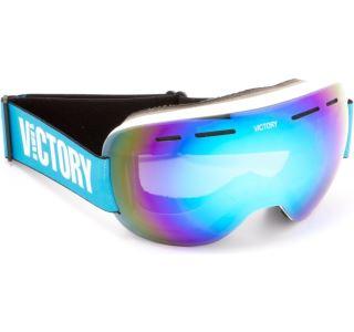 Unisex lyžiarske okuliare Victory SPV 615B biela / modrá