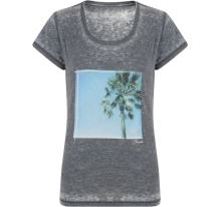 Dámske tričko Dare2b Poised T sivá