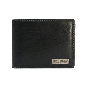 Pánska peňaženka BUSHMAN Kubiš čierna