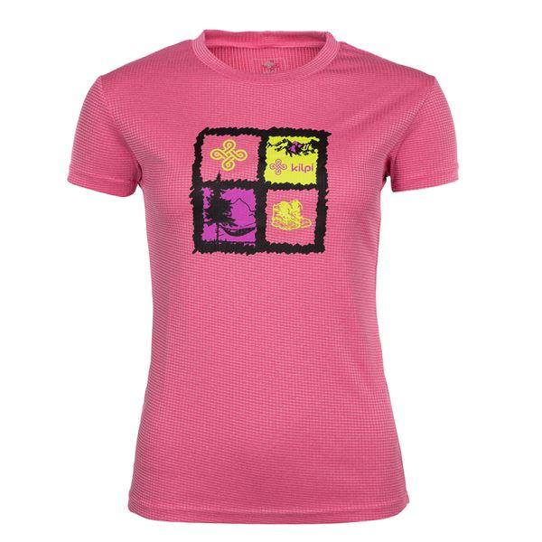 Dámske tričko Kilpi GIACINTO-W ružová