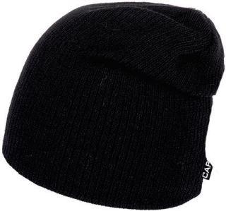 Pánska zimná čiapka Capu 1665 čierna