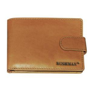 Pánska peňaženka BUSHMAN CHOBE hnedá