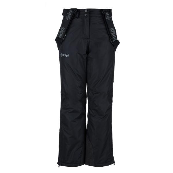 Detské zimné lyžiarske nohavice Kilpi ELARE-JG čierna