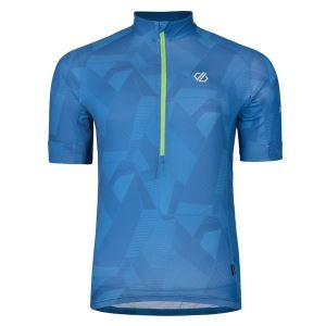 Pánsky cyklistický dres Dare2b PERCEPT modrá