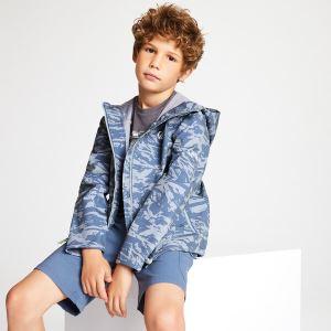 Detská softshellová bunda Dare2b GIFTED sivá
