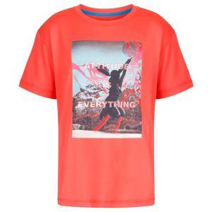 Detské funkčné tričko Regatta ALVARADO III oranžová