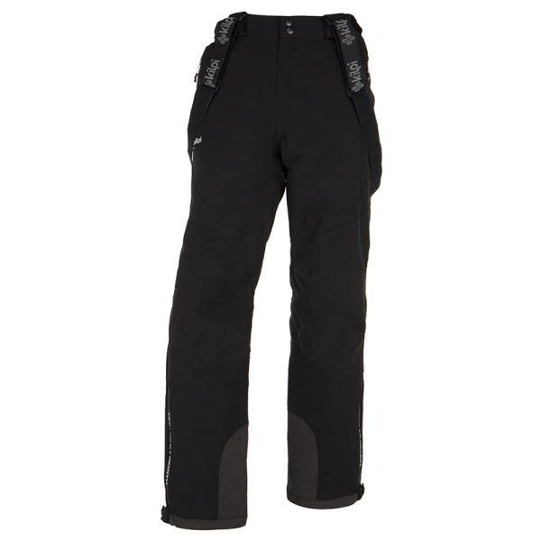 Pánske zimné lyžiarské nohavice KILPI METHONE-M čierna