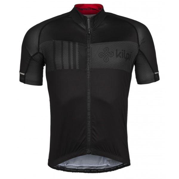 Pánsky cyklistický dres Kilpi CHASER-M čierna