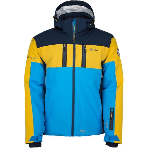 Pánska lyžiarska bunda Kilpi FALCON-M modrá