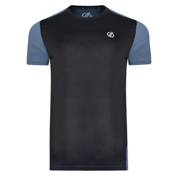 Pánske tričko Dare2b UNDERLIE čierna / sivá