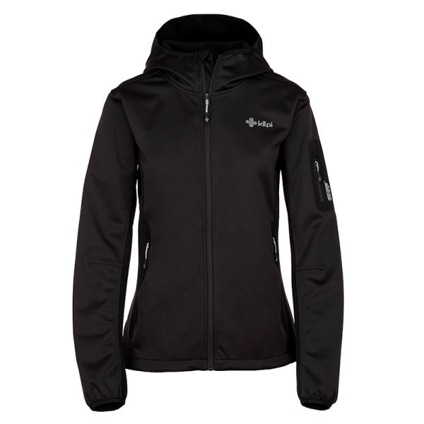 Dámska softshellová bunda Kilpi FORDINO-W čierna