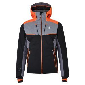 Pánska zimná lyžiarska bunda Dare2b INHERENT čierna / sivá