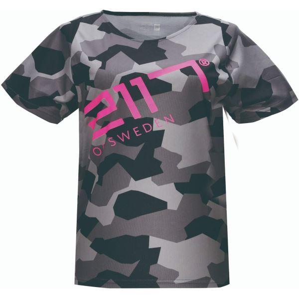 Dámske tričko MTB 2117 KISA čierna / ružová