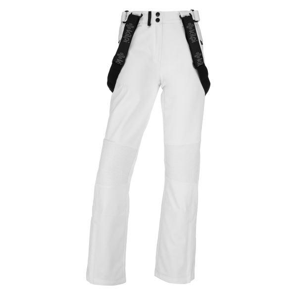 Dámske zimné softshellové nohavice Kilpi DIONE-W biela