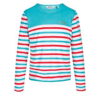 Detské tričko Regatta Calamity modrá
