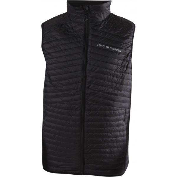 Pánska prešívaná vesta 2117 AXTORP čierna