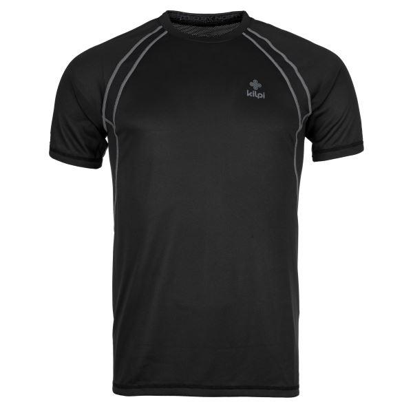 Pánske tričko Kilpi RUNFUL-M čierna