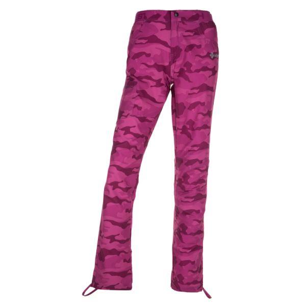 Dámske outdoorové nohavice KILPI MIMICRI-M ružová