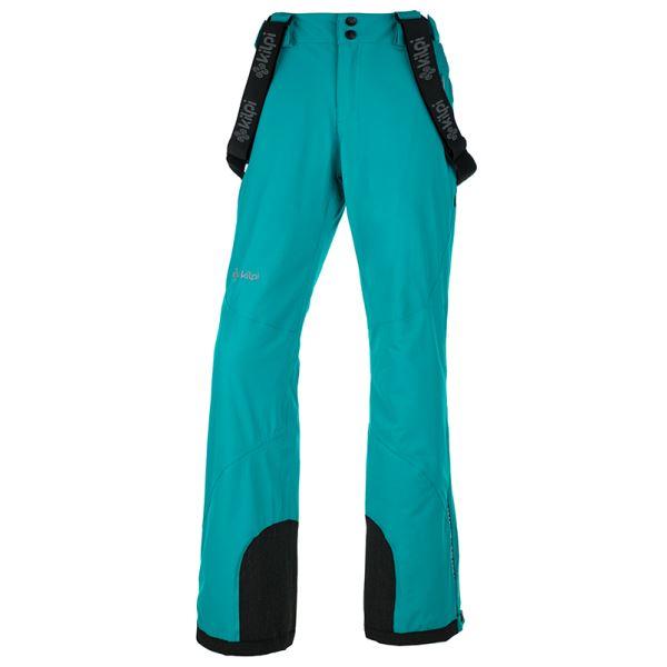 Dámske zimné lyžiarské nohavice Kilpi EUROPA-W tyrkysová