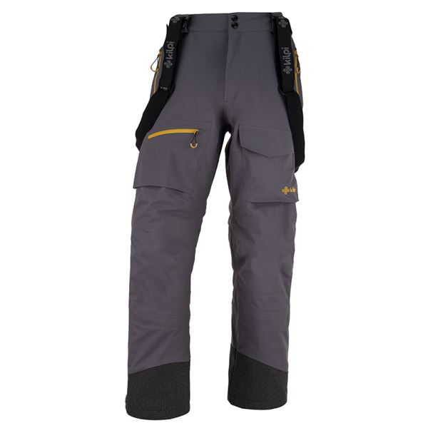 Pánske trojvrstvové nohavice Kilpi HYDE-M tmavo sivá