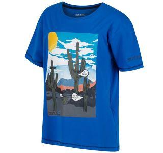 Detské tričko Regatta BOSLEY modrá