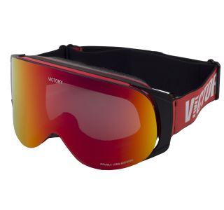 Lyžiarske okuliare Victory SPV 630A červená