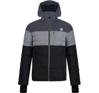 Pánska zimná lyžiarska bunda Dare2b CONNATE čierna / sivá