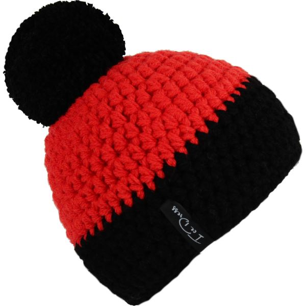 Pánska čiapka IceDress Titan Ice I čierno / červená vel. 4