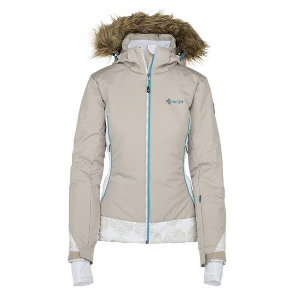 Dámska zimná bunda Kilpi VERA-W béžová