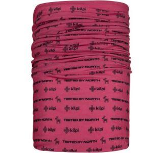 Unisex multifunkčná šatka / nákrčník Kilpi Darlin-U ružová