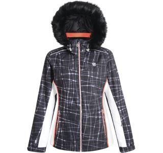 Dámska zimná lyžiarska bunda Dare2b COPIUS čierna / biela