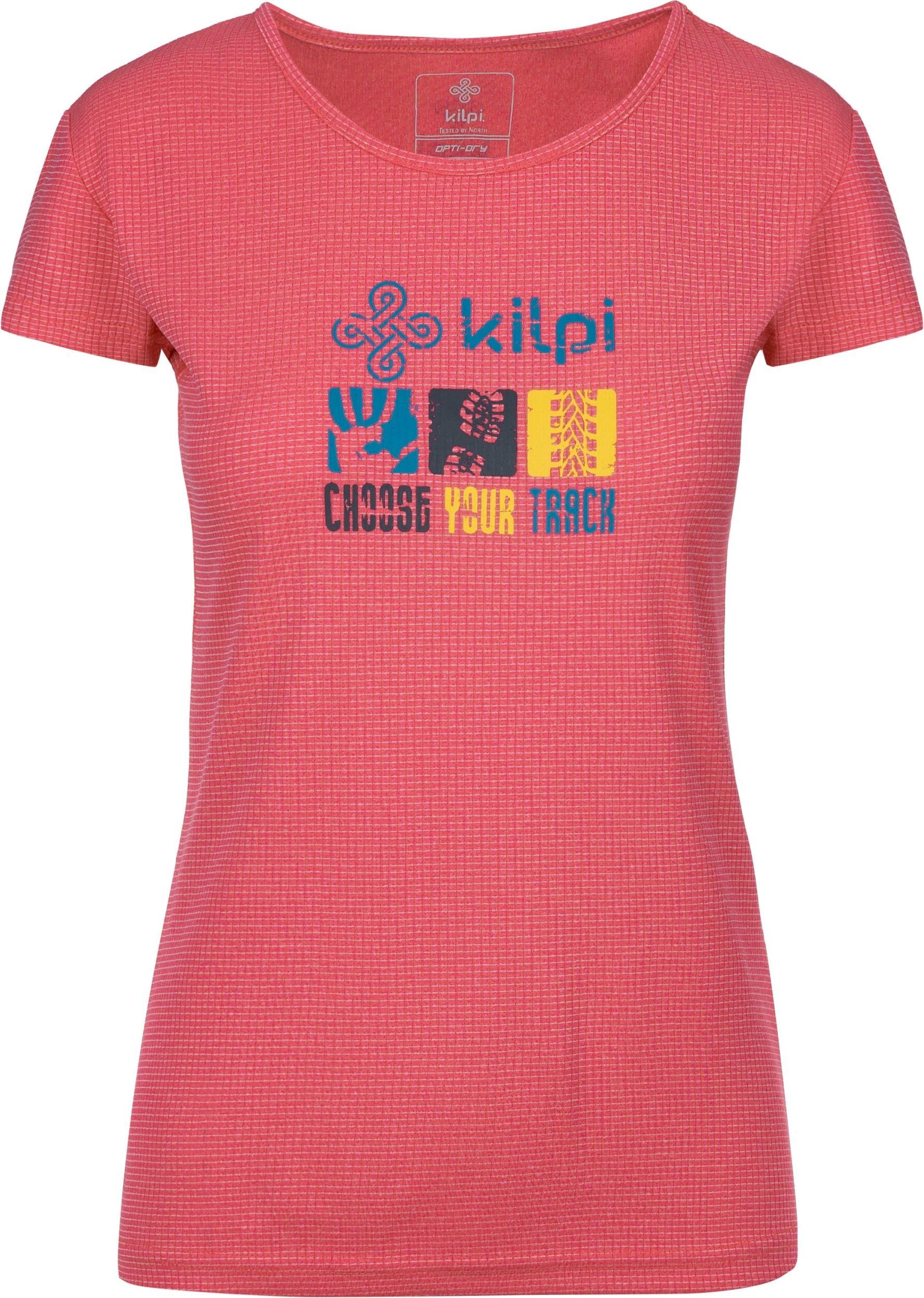 b55a15828 Dámske tričko Kilpi GIACINTO-W ružová | hs-sport.sk