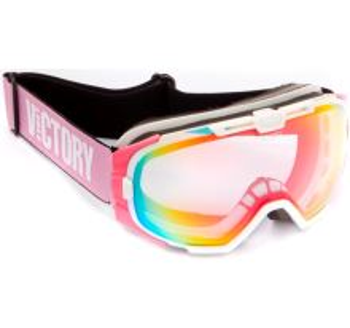 Unisex lyžiarske okuliare Victory SPV 616B biela