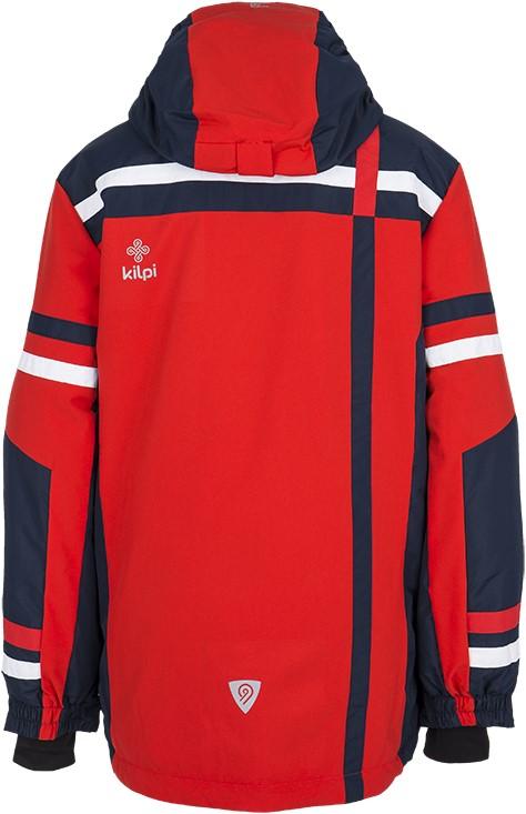 1ba35499bda7 Detské zimné lyžiarska bunda Kilpi TITAN-JB červená 164